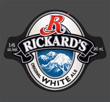 Rickard's White beer Label Full Size