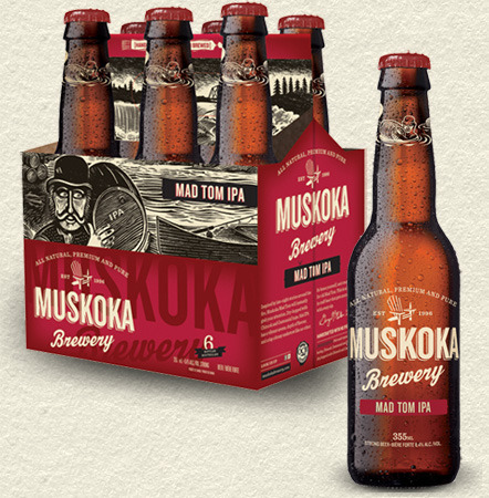 Muskoka Mad Tom IPA Beer