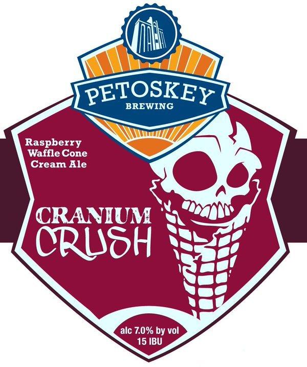 Petoskey Cranium Crush Beer