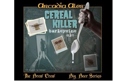 Arcadia Cereal Killer beer Label Full Size