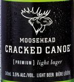 Moosehead Cracked Canoe beer