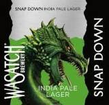 Wasatch Snap Down IPL beer