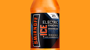 Smirnoff Ice Electric Mandarin Beer