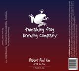 Tweaking Frog Ribbit Red Ale beer