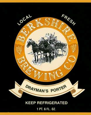 Berkshire Drayman's Porter beer Label Full Size
