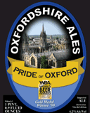 Oxfordshire Pride of Oxford beer
