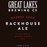 Great Lakes Barrel-aged Rackhouse beer