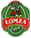 Lomza Export beer