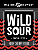 Destihl Wild Sour Series: Sour Cherry Stout beer
