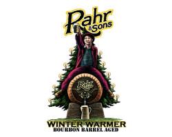 Rahr & Sons Bourbon Barrel Aged Winter Warmer beer Label Full Size