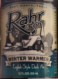 Rahr & Sons Winter Warmer Beer