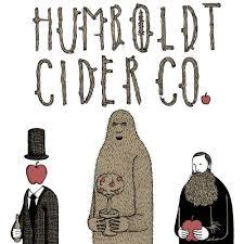 Humboldt Cider Co. Smoke and Mirrors beer Label Full Size