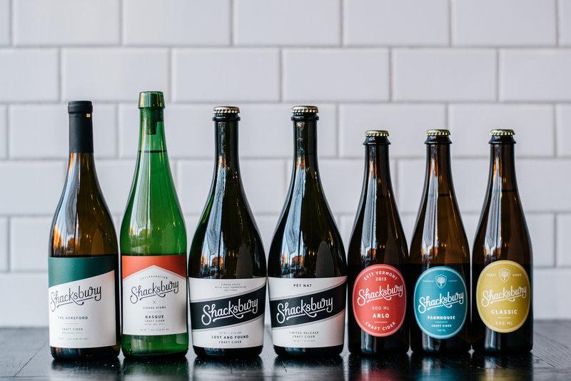 Shacksbury Semi-Dry Cider Beer