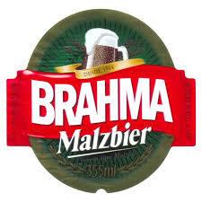 Brahma Malzbier beer Label Full Size
