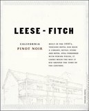 Leese-Fitch Pinot Noir wine
