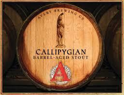 Avery Callipygian 2016 beer Label Full Size