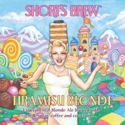 Shorts Tiramisu Blonde beer Label Full Size