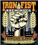 Iron Fist Renegade Blonde beer