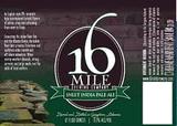 16 Mile Inlet India Pale Ale beer