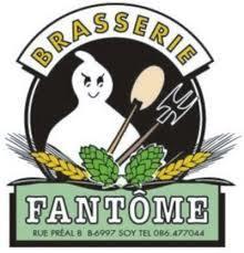 Fantome Forest Ghost (Dark) beer Label Full Size