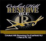 Cricket Hill Barleywine 2010 beer