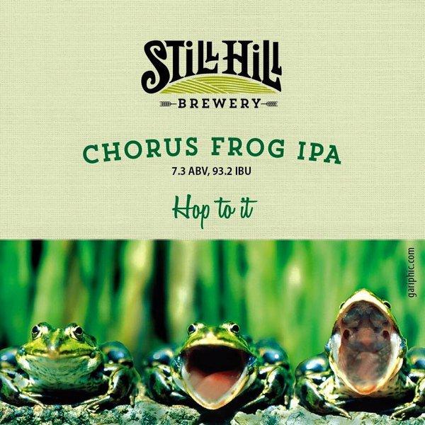 Still Hill Chorus Frog IPA beer Label Full Size