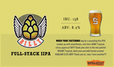 SingleCut Billy Full Stack IIPA beer