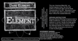 Element Dark Element beer