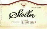 Stoller Family Estate Pinot Noir wine