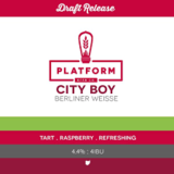 Platform City Boy Beer