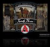 Avery 23rd Anniversary Beer