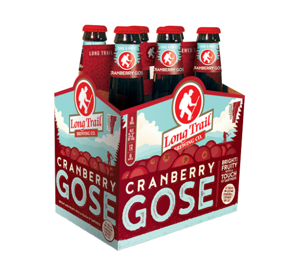 Long Trail Cranberry Gose Beer
