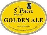 St. Peter's Golden Ale beer