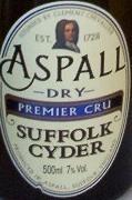 Aspall Dry Premier Cru beer Label Full Size