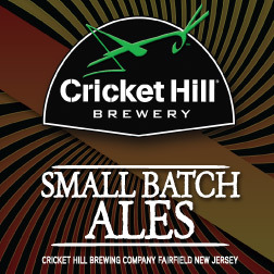 Cricket Hill Small Batch Russian Imperial Stout beer Label Full Size