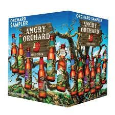 Angry Orchard Orchard Sampler beer Label Full Size