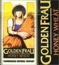 Thunderhead Golden Frau Honey Wheat beer