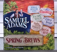 Samuel Adams Spring Variety beer Label Full Size