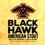 Half Day Blackhawk Stout beer