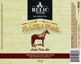 Relic The Flaxen Foal Beer