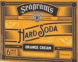 Seagram's Hard Soda Orange Cream beer
