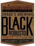 Drake's Black Robusto Porter beer