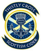 Thistly Cross Scottish Cider beer Label Full Size