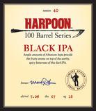 Harpoon Black IPA beer