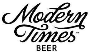Modern Times Bourbon Barrel Aged Monsters' Park beer Label Full Size