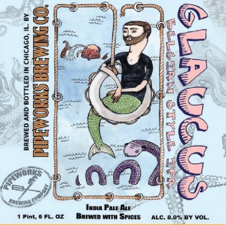 Pipeworks Glaucus beer Label Full Size