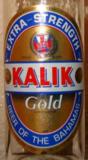 Kalik Gold beer