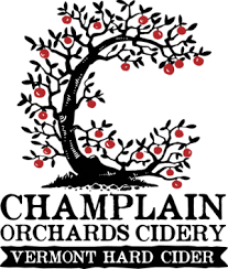 Champlain Orchards Asian Pear Cider beer Label Full Size