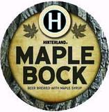Hinterland Maple Bock beer