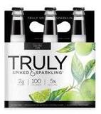 Truly Spiked and Sparkling beer